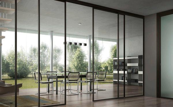 Les portes en verre dans votre habitation